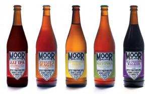 Bottles From Moor Beer